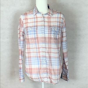 St John's Checkered button Up Flannel